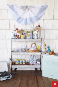 12 Clever Ways to Use Bar Carts That Have Nothing to Do With Booze 11