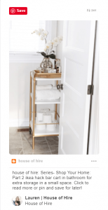 12 Clever Ways to Use Bar Carts That Have Nothing to Do With Booze 3