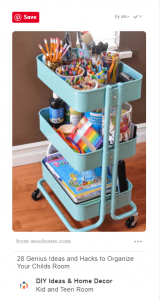 12 Clever Ways to Use Bar Carts That Have Nothing to Do With Booze 5