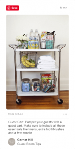 12 Clever Ways to Use Bar Carts That Have Nothing to Do With Booze 8