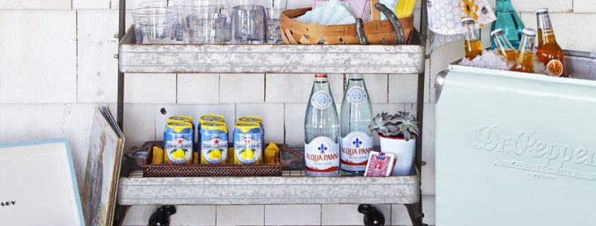 12 Clever Ways to Use Bar Carts That Have Nothing to Do With Booze