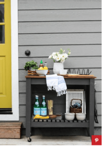 12 Clever Ways to Use Bar Carts That Have Nothing to Do With Booze 10